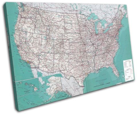 USA American Atlas Maps Flags - 13-1778(00B)-SG32-LO